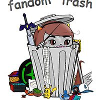 Fandom Trash Logo by FandomTrash14