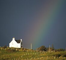 House and Rainbow by Kasia Nowak