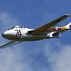 De Havilland Vampire T.11 by Andrew Harker