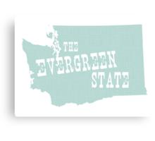 Washington State Motto Slogan Canvas Print