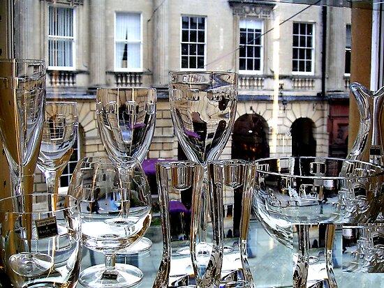 Glass in Bath by gothgirl