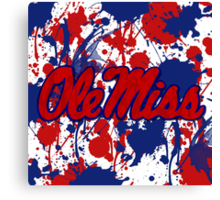 Ole Miss! Canvas Print