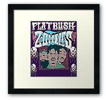 FLATBUSH ZOMBIE BODEGA BAMZ DILLON COOPER Framed Print