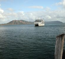 Heading for Cooktown by Barrie Collins