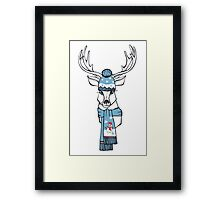 Winter Deer  Framed Print
