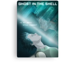 Ghost in the Shell - fan poster Canvas Print