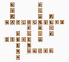 Warehouse Scrabble Kids Clothes