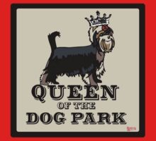 Yorkshire Terrier Queen of the Dog Park Kids Clothes