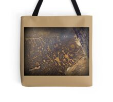Newspaper Rock Tote Bag