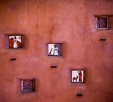 Wall of Saints by doorfrontphotos