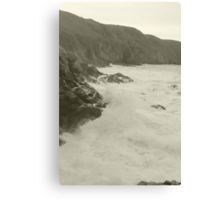 Jersey Cliffs Canvas Print