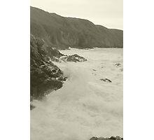 Jersey Cliffs Photographic Print