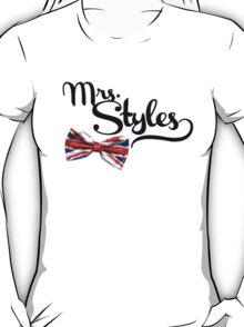 Mrs. Styles - Black Text T-Shirt