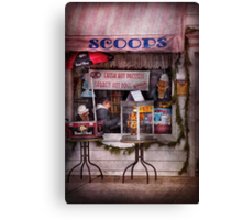 Cafe - Clinton, NJ - The luncheonette  Canvas Print