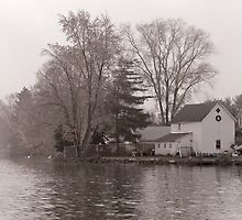 Home on Lake by andykazie