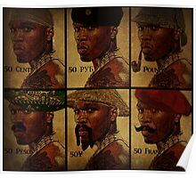 foreign exchange rate 50 cent Poster