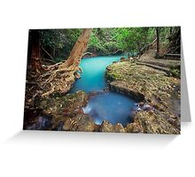 nature's private spa pool...Nth Qld Greeting Card