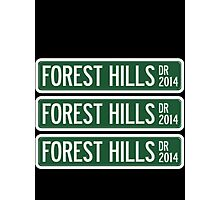 2014 Forest Hills Drive Photographic Print