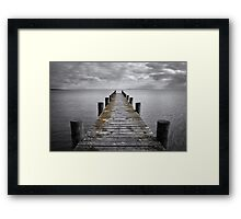 Destination Framed Print