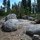 bold rocks in south California forest.  nature photography. by naturematters