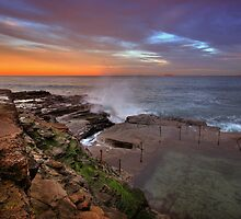 Bogey Hole at Dusk 13 by Mark Snelson
