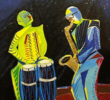 Jam'n Sum Jazz by Arnold Isbister