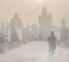Foggy Prague by JBlaminsky