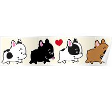 Frenchie Familly Poster