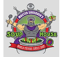 TMNT Master Shredder's Soup House Photographic Print