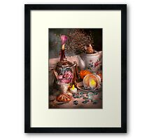 Tea Party - I would love to have some tea  Framed Print