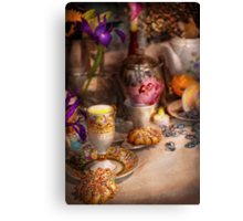 Tea Party - The magic of a tea party  Canvas Print