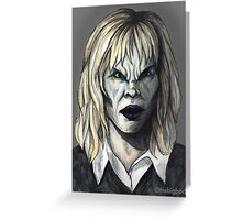 Welcome to the Hellmouth - Darla II Greeting Card