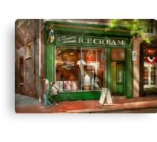 Store Front - Alexandria, VA - The Creamery Canvas Print