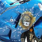 airbrush on bike by Airbrushr  Rick Shores