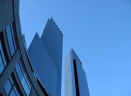 Time Warner Building by Roslyn Lunetta