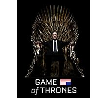 House of Cards/Game of Thrones: Frank Underwood Photographic Print