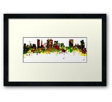 Birmingham  City  UK Skyline Framed Print