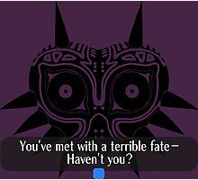 Legend of Zelda - Majora's Mask: Terrible Fate Photographic Print