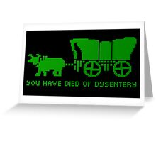 On the Oregon Trail Greeting Card