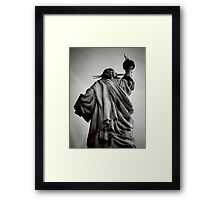 From the Eyes of the American Oppressed Framed Print