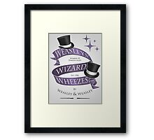 Weasleys' Wizard Wheezes Framed Print