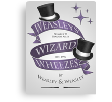 Weasleys' Wizard Wheezes Canvas Print