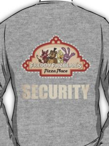 Five Nights at Freddy's Security Logo T-Shirt
