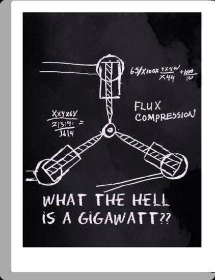 1.21 Gigawatts by wahboasti