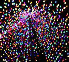 Christmas Bokeh by arachnidstardis