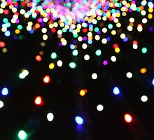 Christmas Tree Bokeh by arachnidstardis