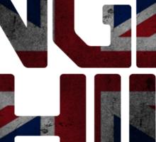 Anglophile Sticker
