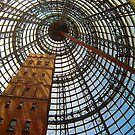 Progress Saves History - Melbourne Central, Melbourne Australia by Philip Johnson