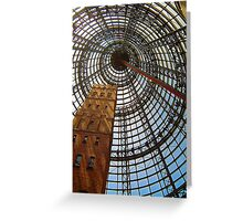 Progress Saves History - Melbourne Central, Melbourne Australia Greeting Card