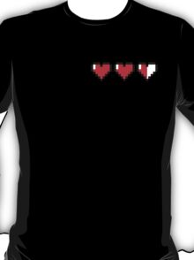 8-Bit Hearts - Legend of Zelda T-Shirt
